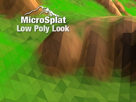 MicroSplat - Low Poly Look