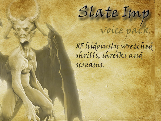 The Slate Imp - Voice Pack