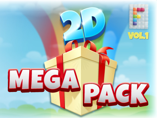 Mega Pack 2D Vol. 1