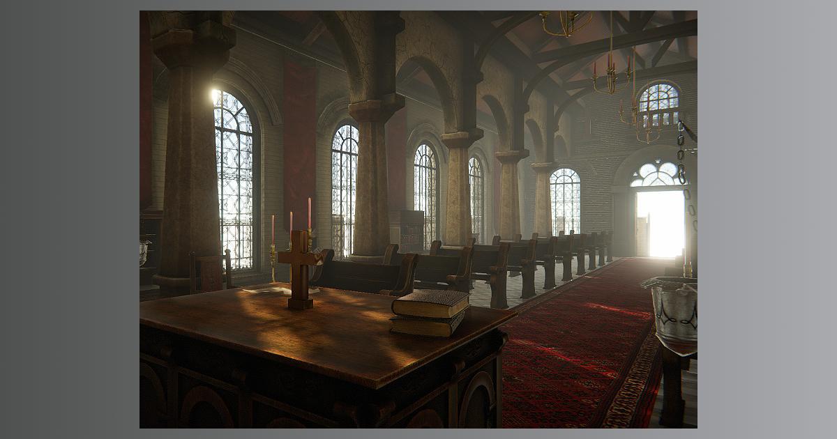 Church (Interior and Exterior)