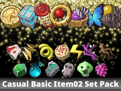 Casual Basic Item02 Set Pack