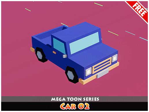 Meshtint Free Car 02 Mega Toon Series