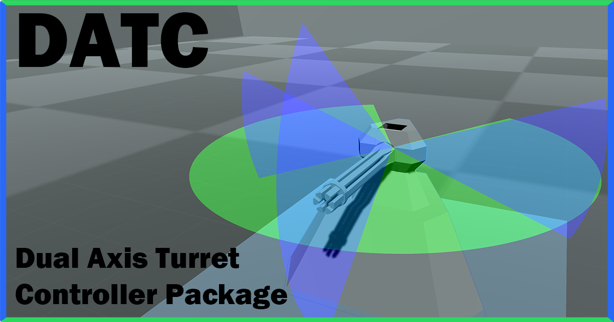 Dual Axis Turret Controller Package