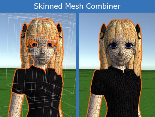 Skinned Mesh Combiner MT
