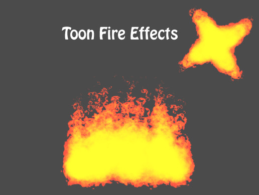 Toon Fire Effects