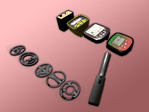 Metal Detectors parts