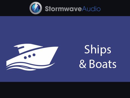 Old Schooner Boat General Equipment SFX Pack 1