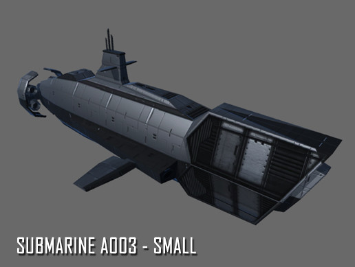 Submarine A003 - Small - Asset Store