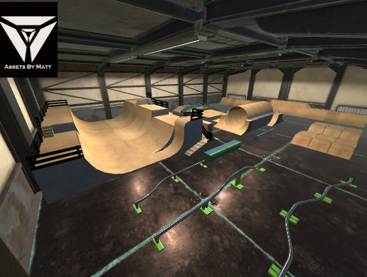 Modular Skate Park Environment