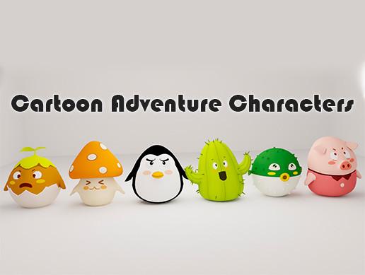 Cartoon Adventure characters pack