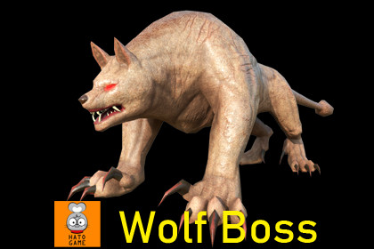 Wolf boss monster