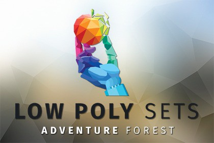 Low Poly Sets: Adventure Forest