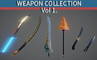 Weapon Collection Set Vol_1 by JNgo