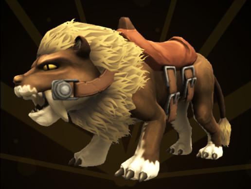 RPG Mount Saber Cat