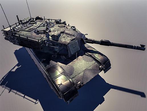Tank Abrams M1