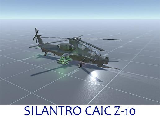 Silantro CAIC Z-10W Helicopter
