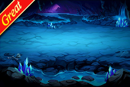 Great Battle Background_02(CrystalCave)