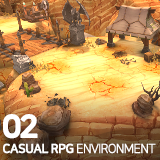 Casual RPG Environment 02