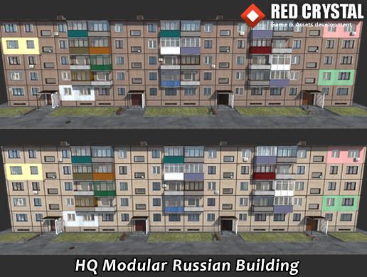 HQ Modular Russian Building