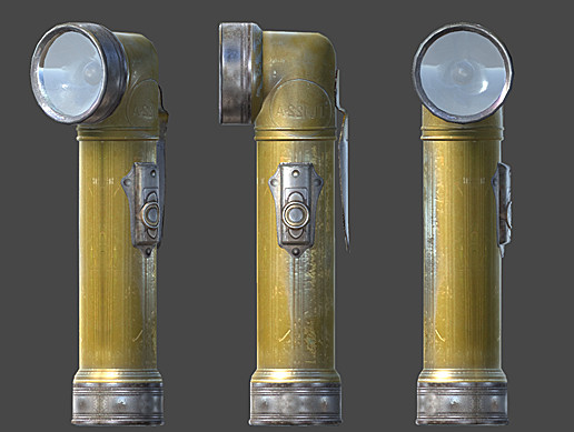 Old Flashlight (Realistic)