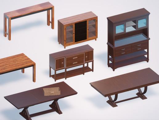 Kitchen Furniture PBR