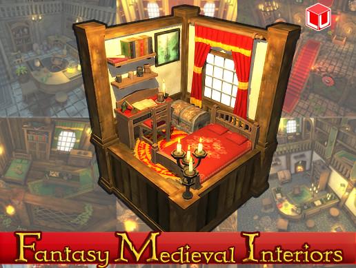 Fantasy Medieval Interiors