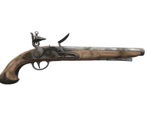 Flint Lock Pistol