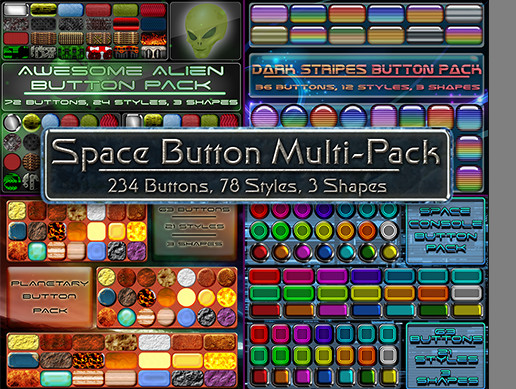 Space Button Multi-Pack