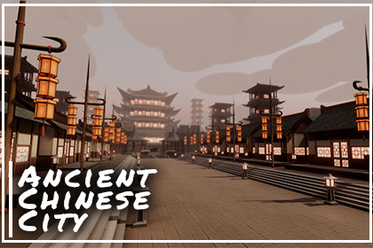 Modular Ancient Chinese City Pack