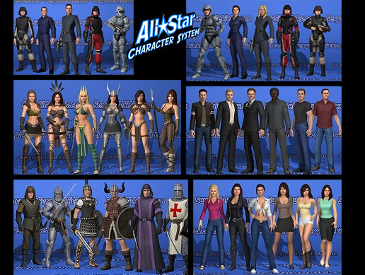 All Star Character Collection