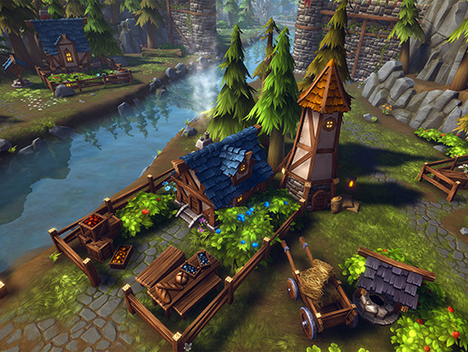 Modular Fantasy Village