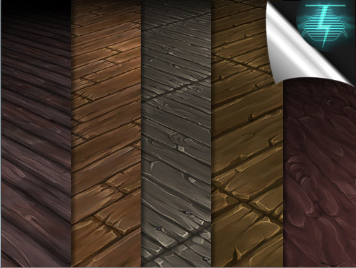 Hand Painted Wood Textures - Vol. 01