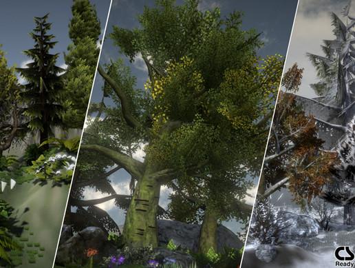 Forest Vegetation Mega Pack