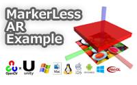 MarkerLess AR Example - Asset Store