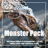 Monster Sounds & Atmospheres SFX Pack
