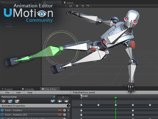 UMotion Community - Animation Editor