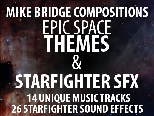 Epic Space Theme Music & Starfighter Sound Effects
