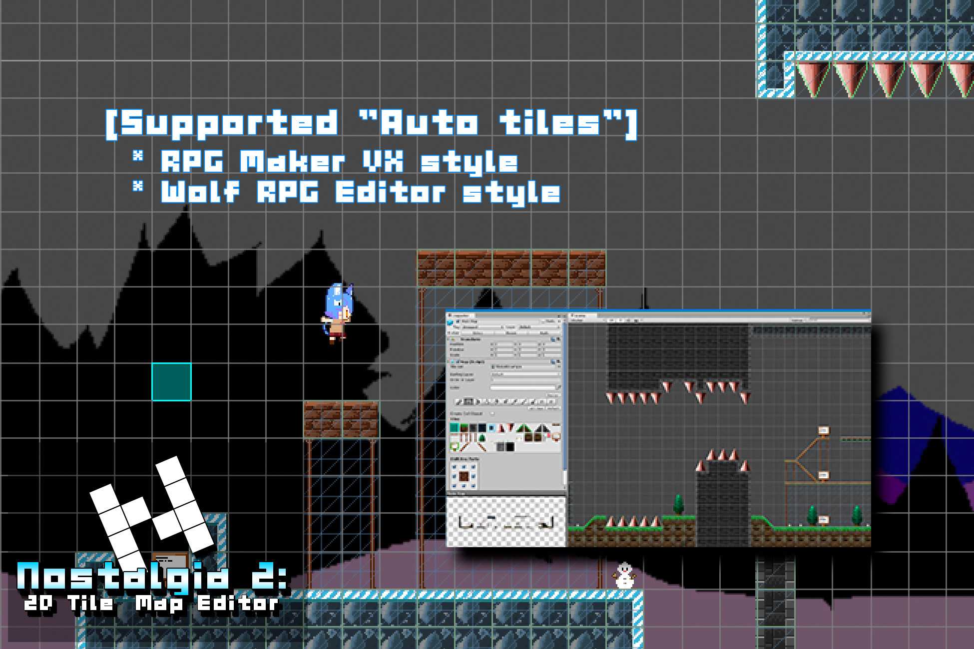 Nostalgia 2: 2D Tile Map Editor