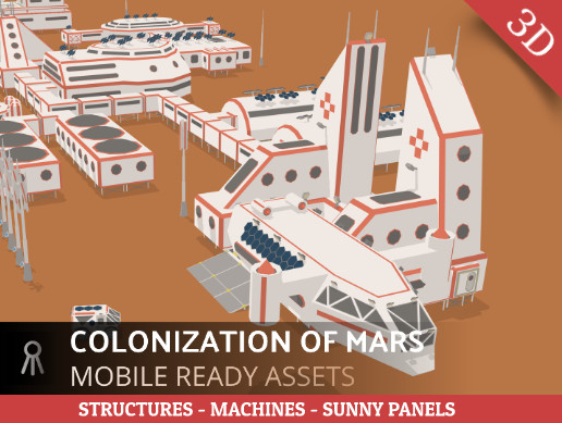 Mars colonization stage 2 (settlement)