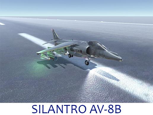 Silantro AV-8B Harrier Jet