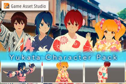 Yukata Charactor Pack