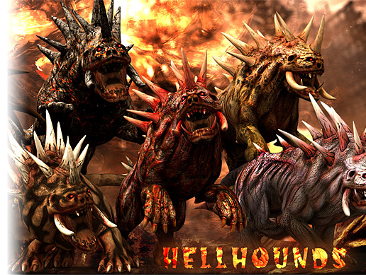 Hellhounds monsters