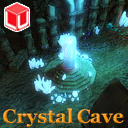 Top-Down Crystal Cave