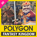 POLYGON Fantasy Kingdom - Low Poly 3D Art by Synty