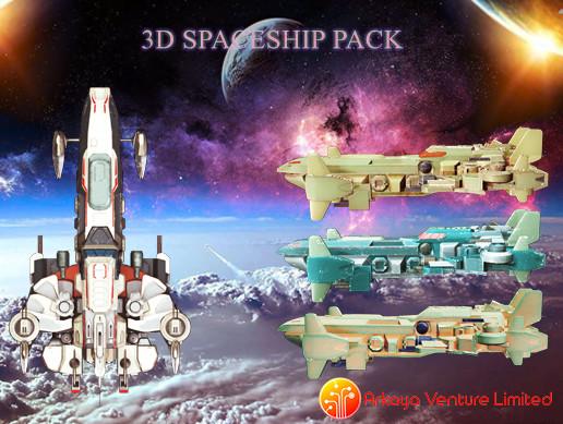 3D Spaceship Pack Vol 05