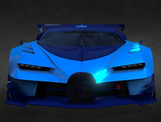 Race game car, Hypercar