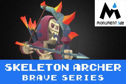 Catacomb Skeleton Archer - Brave Series