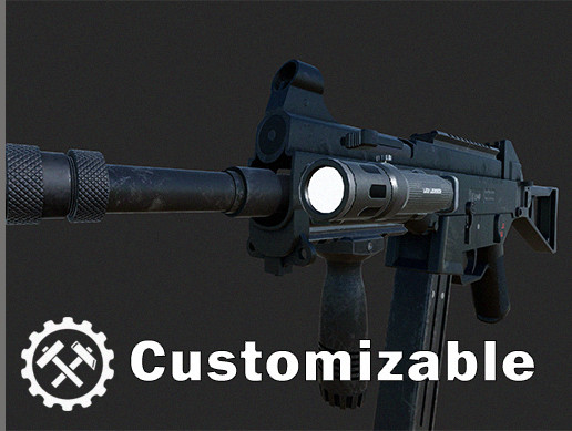 Weapons Customizable Package