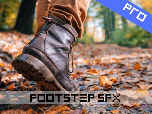Footstep Sounds Pro