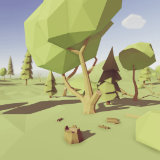 Low Poly Trees - Pack
